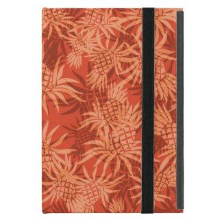 パイナップル迷彩柄のハワイアンのPowisのiCaseのiPad Miniケース iPad Mini ケース