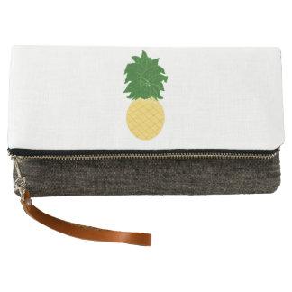 パイナップル クラッチバッグ