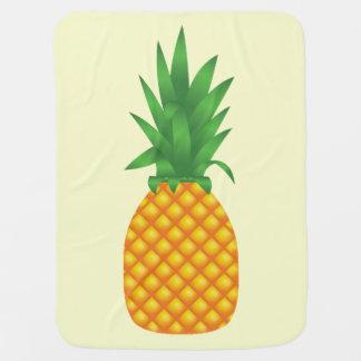 パイナップル ベビー ブランケット