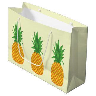 パイナップル ラージペーパーバッグ