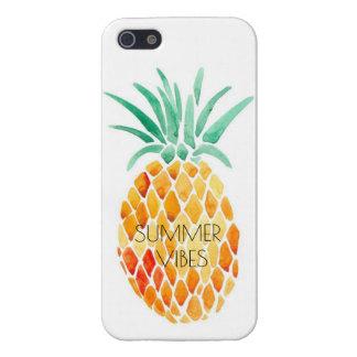パイナップル-夏の感情 iPhone 5 ケース