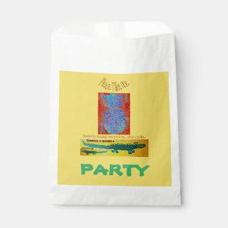 パイナップルCrocの誕生日の好意 フェイバーバッグ