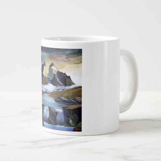 パイネの滝 ジャンボコーヒーマグカップ