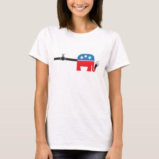 パイプラインのルート Tシャツ