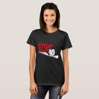 パイプラインのロゴをストップ Tシャツ