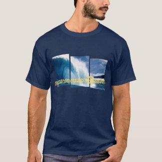 パイプラインはサーフィンのグラフィックを振ります Tシャツ