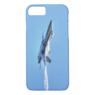 パイロットのための超音速F-18ジェット機戦闘機のデザイン iPhone 8/7ケース