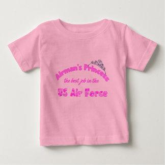 パイロットのプリンセス ベビーTシャツ