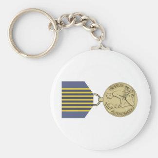 パイロットのメダル キーホルダー