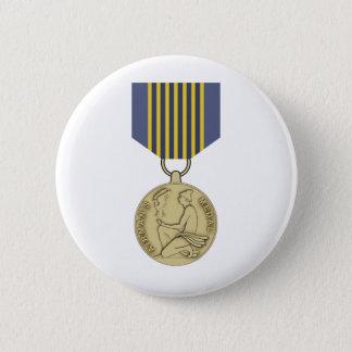 パイロットのメダル 5.7CM 丸型バッジ