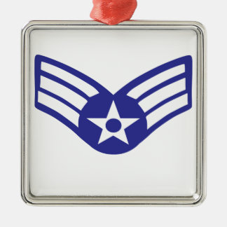 パイロットの上級米国の空軍 メタルオーナメント
