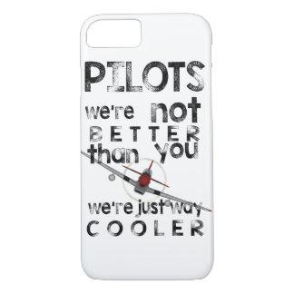 パイロットは方法クーラーです! iPhone 8/7ケース
