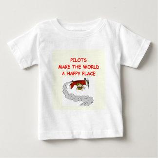 パイロット ベビーTシャツ