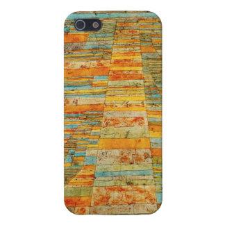 パウル・クレーのハイウェーおよびわき道のiPhone 5の場合 iPhone 5 Case