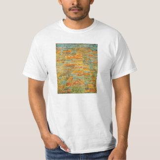 パウル・クレーのハイウェーおよびわき道のTシャツ Tシャツ