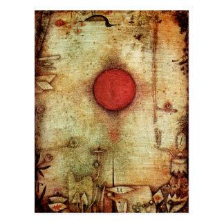 パウル・クレーの広告のMarginemの絵画 ポストカード
