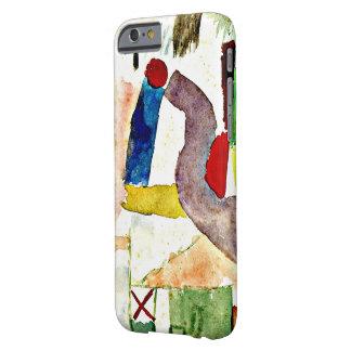 パウル・クレーの絵画-悲しい水彩画 BARELY THERE iPhone 6 ケース