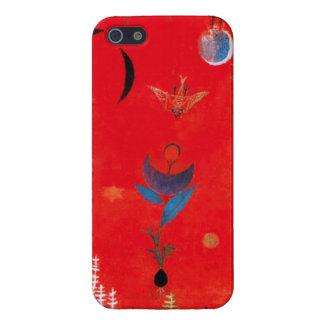 パウル・クレーの花の神話のiPhone 5の場合 iPhone 5 カバー