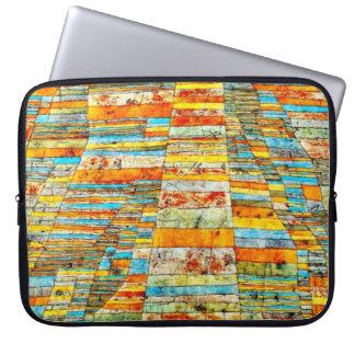 パウル・クレーの芸術: ハイウェーおよびわき道 ラップトップスリーブ