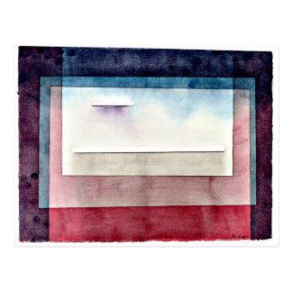 パウル・クレーの芸術: パウル・クレー著絵を描く休息 ポストカード
