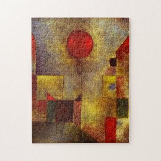 パウル・クレーの赤い気球のパズル ジグソーパズル