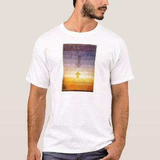 パウル・クレー著夕べの分離 Tシャツ