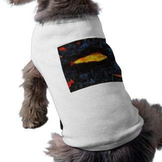 パウル・クレー金魚のヴィンテージの水彩画の芸術 ペット服
