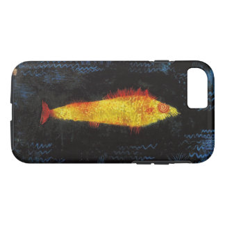 パウル・クレー金魚のヴィンテージの水彩画の芸術 iPhone 8/7ケース