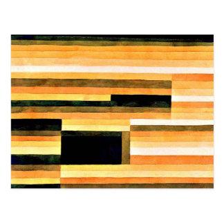 パウル・クレー-石Chamber 1929年 ポストカード