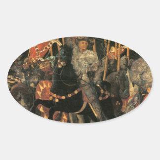 パウロ著Micheletto Cotignolaの介在 楕円形シール