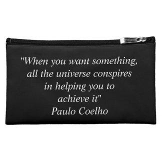 パウロ・コエーリョの引用文の旅行アクセサリーバッグ コスメティックバッグ