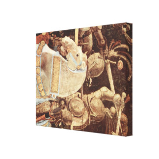 パオロ・ウッチェロの芸術 キャンバスプリント