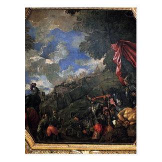 パオロ・ヴェロネーゼ著Smyrnaの征服 ポストカード