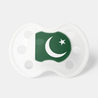 パキスタンの国民の世界の旗 おしゃぶり