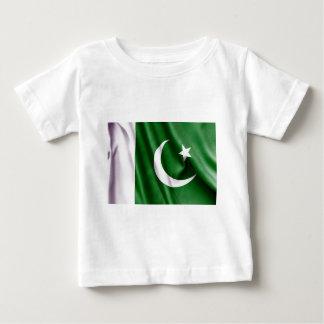 パキスタンの旗 ベビーTシャツ