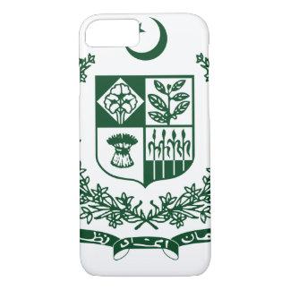 パキスタンの紋章付き外衣 iPhone 8/7ケース