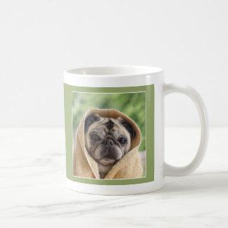 パグおよびキスが愛パグのマグでカバーするパグ コーヒーマグカップ