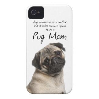パグのお母さんのiPhone 4/4Sの場合 Case-Mate iPhone 4 ケース