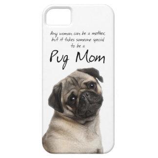 パグのお母さんのiPhone 5の場合 iPhone SE/5/5s ケース