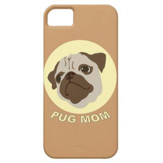 パグのお母さん(1) iPhone SE/5/5s ケース