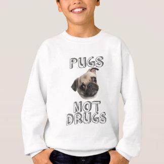パグのない薬剤 スウェットシャツ