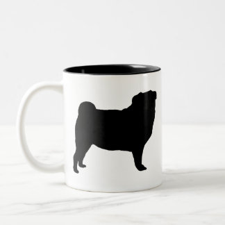 パグのギア ツートーンマグカップ