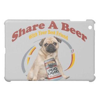 パグの共有ビールIPAD箱 iPad MINI CASE
