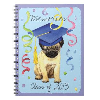 パグの卒業生 ノートブック