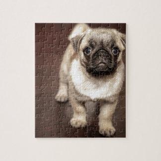 パグの子犬 ジグソーパズル