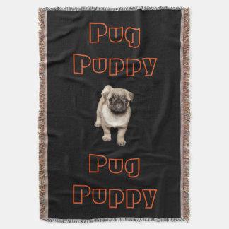 パグの子犬 スローブランケット