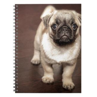 パグの子犬 ノートブック