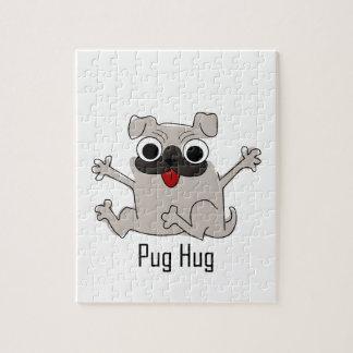 パグの抱擁 ジグソーパズル