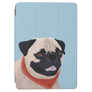 パグの漫画 iPad AIR カバー