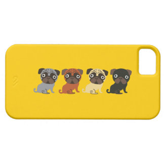 パグの電話箱 iPhone SE/5/5s ケース